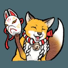 稲荷神社ノ狐達