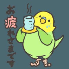 BIRDSTORY 敬語スタンプ