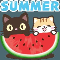 クロときどきミケ【夏】