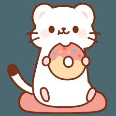 [LINEスタンプ] オコジョさんの日常スタンプ