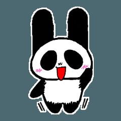 パンダウサギのトウトウスタンプ
