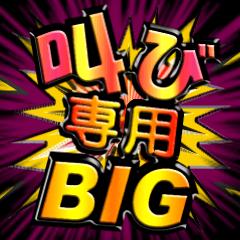 叫び専用BIG