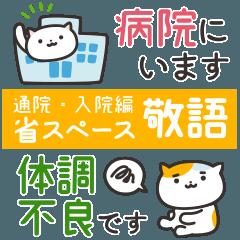 ねこっと病院/敬語(通院・入院編)