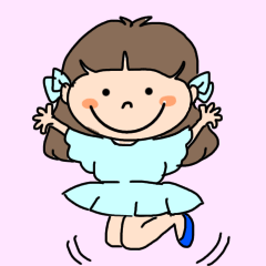[LINEスタンプ] ゆずちゃん【夏】