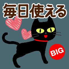 毎日使える敬語黒猫【BIG】