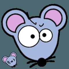 鼠 子 ねずみ