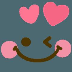 [LINEスタンプ] かわいい♡デカ文字