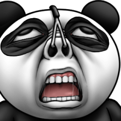かわいいパンダさん3