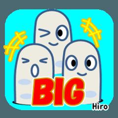 チンアナゴ BIGスタンプ☆