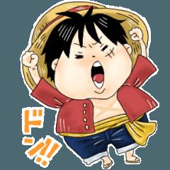 ONE PIECE ルフィ【日常でつかえる!】