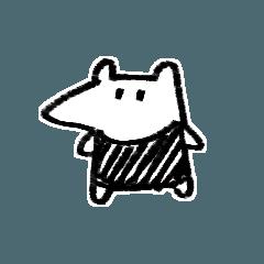 [LINEスタンプ] Babyアリクイちゃん