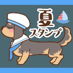 ダックス大好き季節・夏◆黒タン
