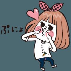 人参Tシャツ ノ ニジコ
