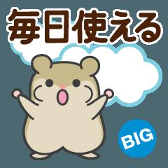 毎日使えるハムスター【BIG】